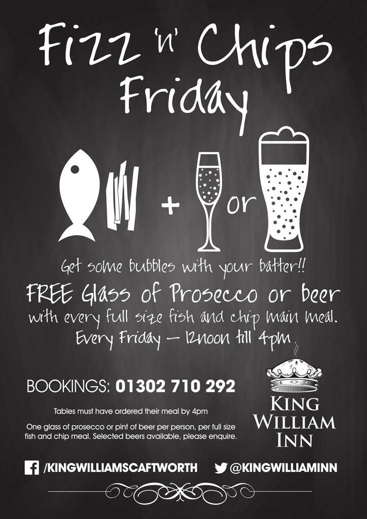 Promotional Poster for King William Inn