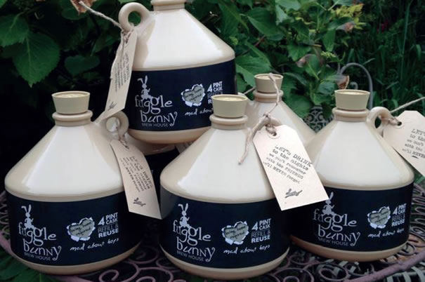 Fuggle Bunny Brew House Real Ale Jugs