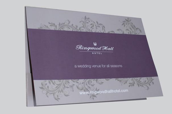 Ringwood Hall Hotel - Folder
